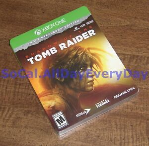 Shadow Of The Tomb Raider Croft Edition Steelbook Ps4 Xbox One no Game