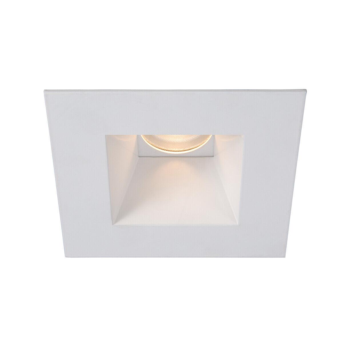 WAC Tesla Pro 3.5″ Shower Trim Square HR-3LEDT818P LED Shower Light