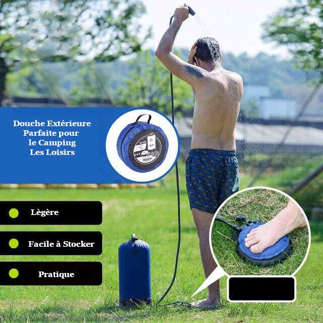 Douche extérieur avec Pression 11 L  Douche portable avec Pression  Accessoire