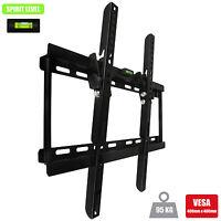 Tilt Slim Wall mount TV bracket LED LCD 26 30 32 37 40 42 46 47 50 52 55 plasma