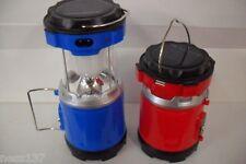 Lampe Torche & Lanterne 2 en 1 Telescopique Rechargeable 230V & Solaire USB