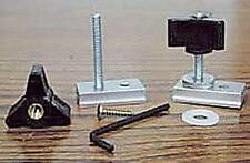 12pc Miter Slot Fixture Jig Kit. T-track T-bar, Featherboard Stop, Circle Cutter