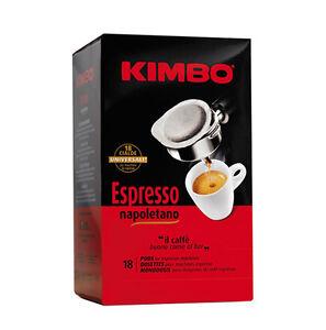 108-CIALDE-CAFFE-039-KIMBO-IN-FILOCARTA-ESE-44-MM-MISCELA-ESPRESSO-NAPOLETANO-OR