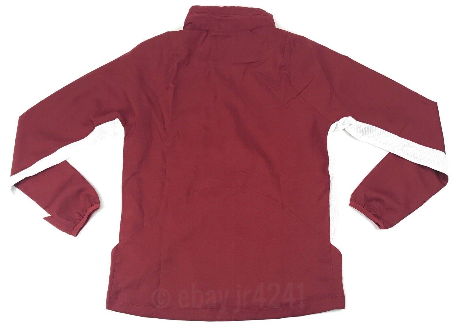 2992d0ff18240 Nike Alabama Crimson Tide Dry Full-zip Jacket Women s Medium Red ...