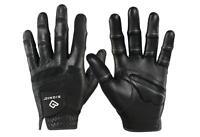 3 Bionic Stable Grip Golf Gloves Black Left Hand Mens (for Rh Golfer)
