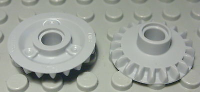 1334 Lego Technic Zahnrad 20 Zähne Schwarz 2 Stück
