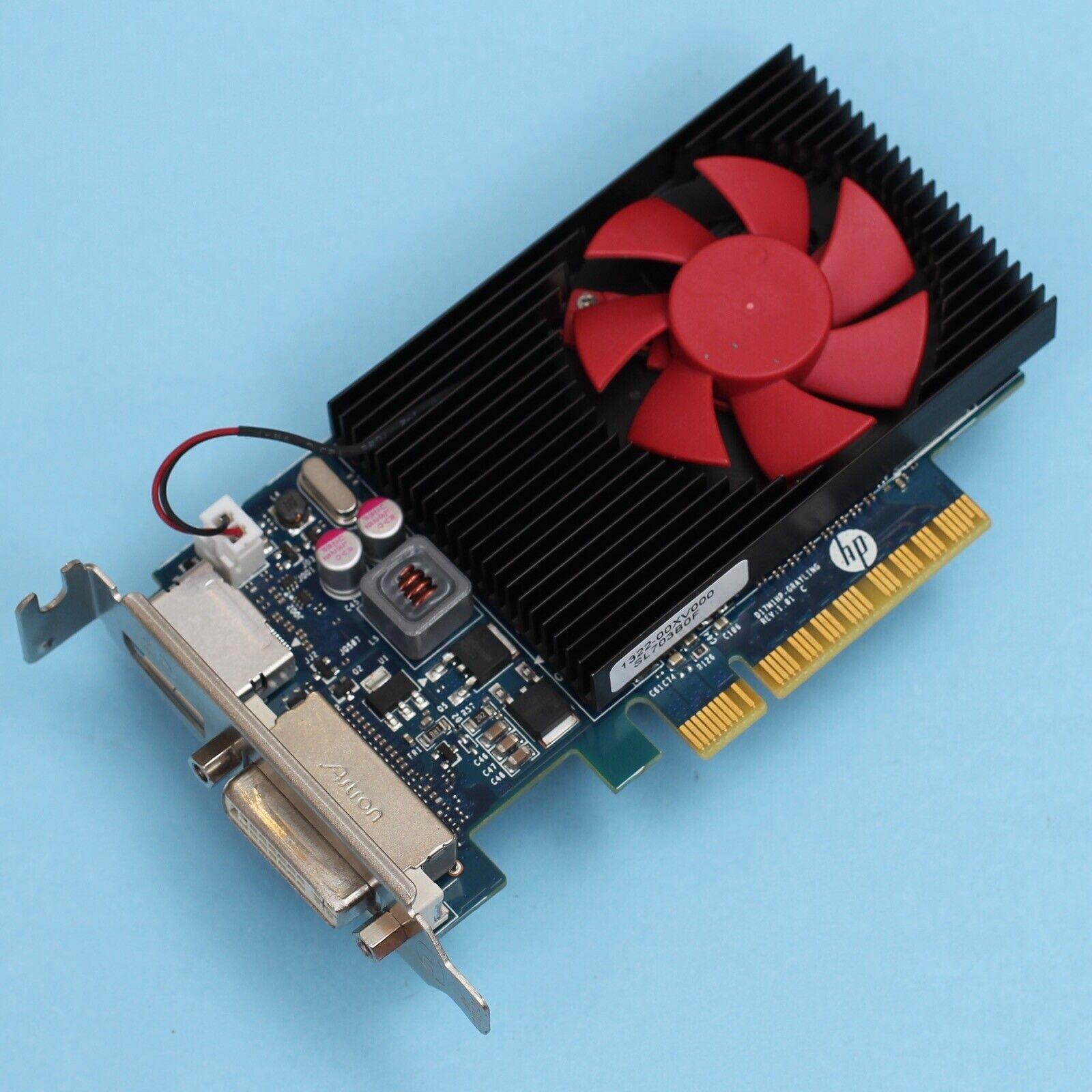 HP NVIDIA Geforce GT 730 PCI-E X8 Low Profile 2GB DDR5 Dual DP / DVI 802315-001