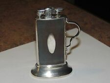 1929 Ronson De-Light silver plated Tabourette table lighter
