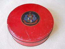 Vintage red TIndeco Tin / Ben Zinn Gurrre / French