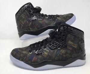 fad9413c8ea2 2016 Nike Air Jordan Spike Lee Forty PE BHM SZ 12  Black Volt Retro ...
