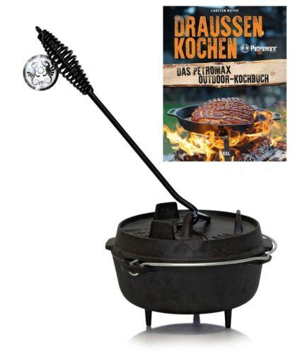 Petromax Dutch Oven mit Deckelheber und Kochbuch Ft1-Ft18  zur Auswahl