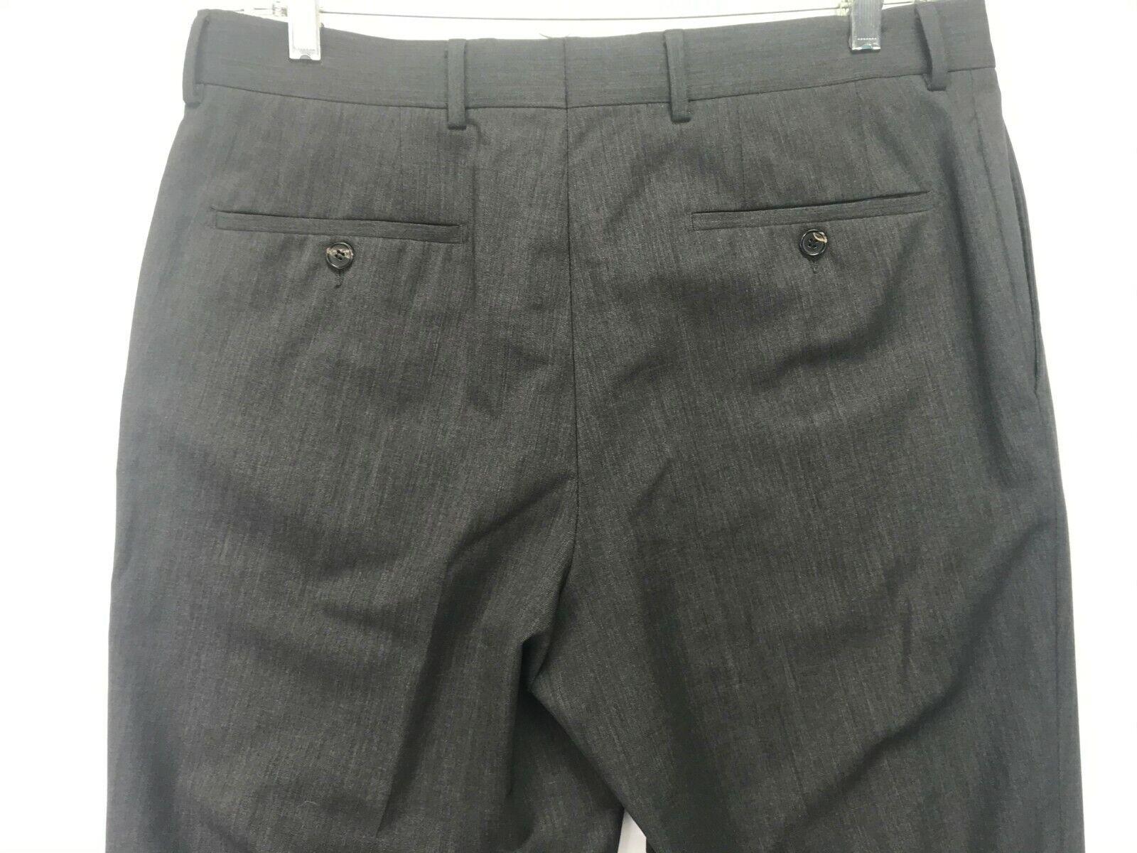 Mens Hugo Boss James Brown Dress Pants SIZE 34Rx3… - image 4