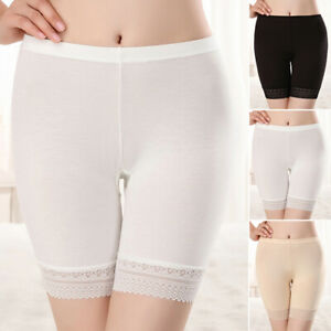 Women-039-s-High-Waist-Sports-Yoga-Cycling-Shorts-Seamless-Stretch-Safety-Underpants