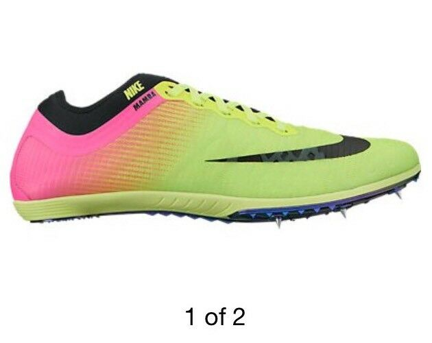 NWOB Nike Men's Zoom Mamba 3 Steeplechase Spiked Track Shoes 706617-999 Comfortable The most popular shoes for men and women