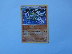 Pokémon Carte Pokemon Gallade 140 pv Noir et Blanc Legendary Treasures rare !!!