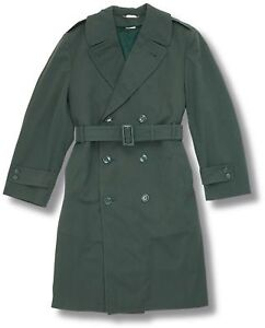 US-GOV-ISSUE-OVERCOAT-AG44-WOOL-GABARDINE-LINED-COAT