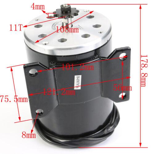 36V 800W Brushed Motor Speed Controller Throttle Grips Pedal for Go Kart ATV BUG