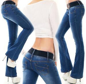 Redseventy WT366 Bootcut Jeans+ Belt Gr.32-42