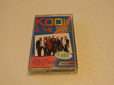 Kool & and the Gang Live Success Victory Ladies Night Cassette tape RARE