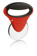 Microplane Specialty Pizza Cutter Slicer, Red