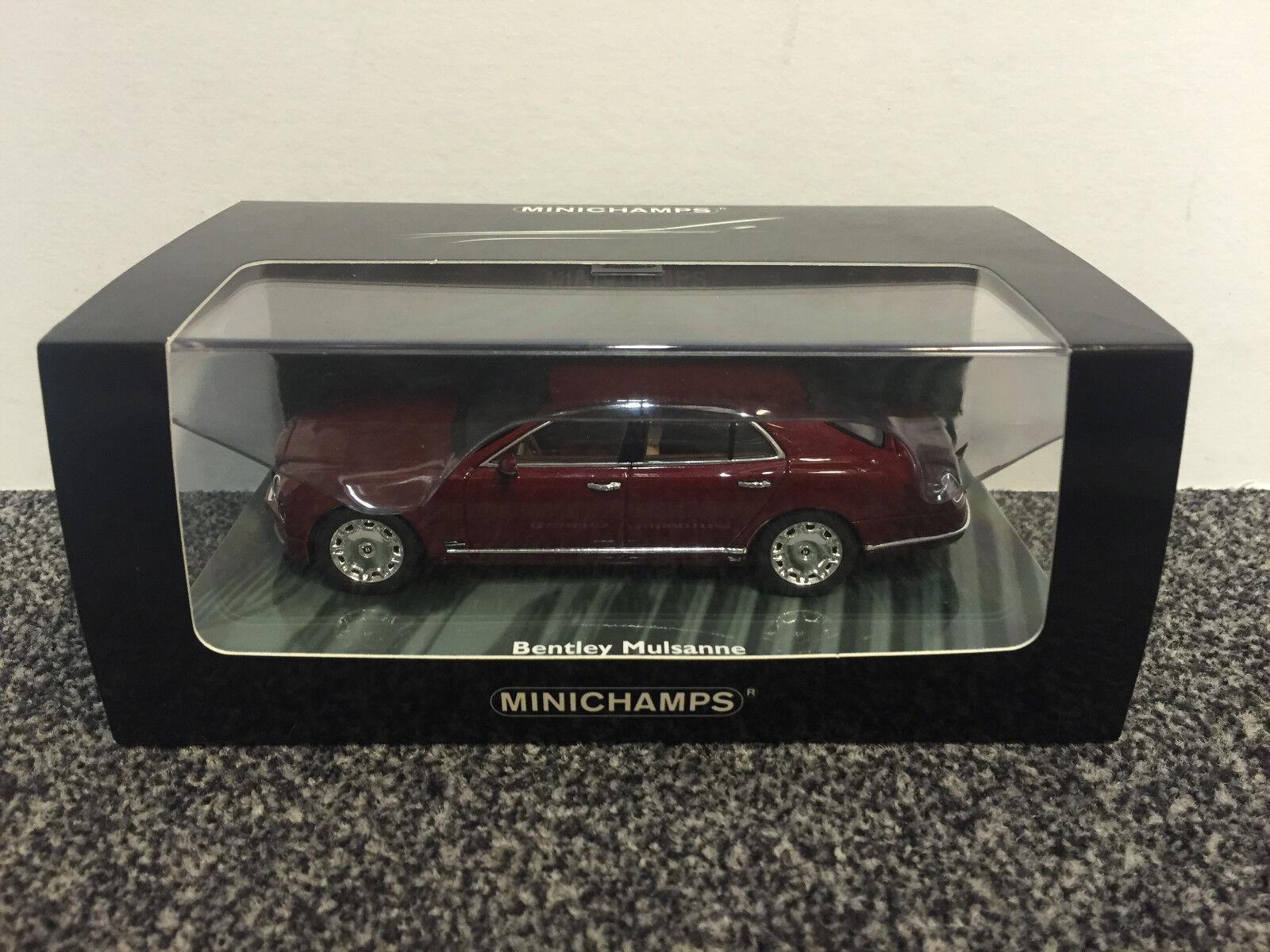 Bentley Mulsanne 2010 rouge metallic 1 43 MINICHAMPS