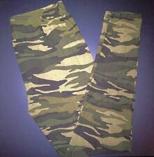 Buttery Soft Camouflage Leggings Tall & Curvy XL Army Green CAMO Plus Size TC