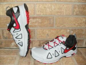58577d7e382c3 New Nike Air Alvord 10 Men s Trail Running Shoe  Gray-Black-Red MSRP ...