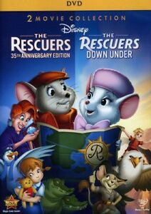 The-Rescuers-The-Rescuers-Down-Under-35th-Anniversary-Edition-New-DVD-An
