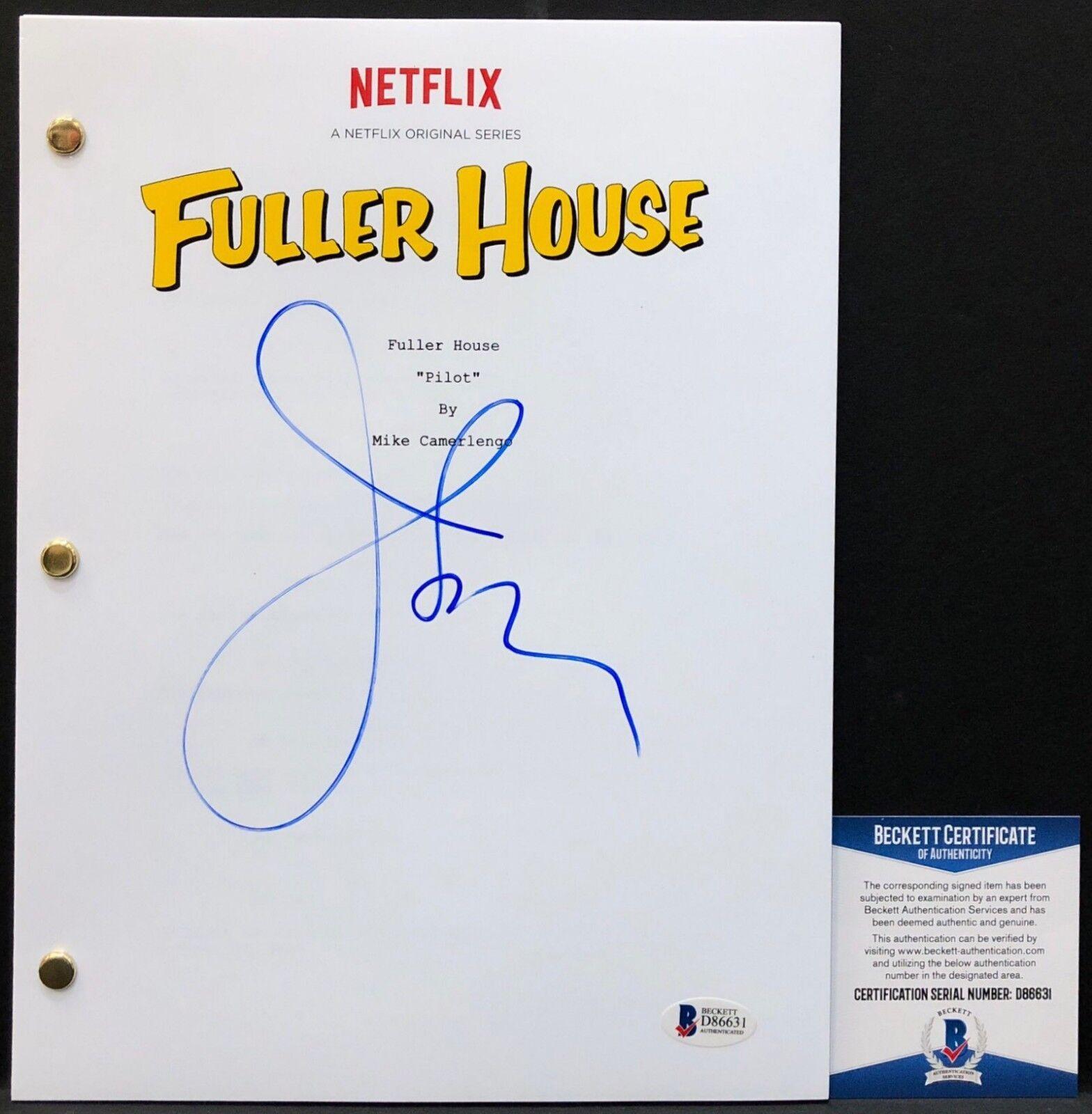 John Stamos Signed