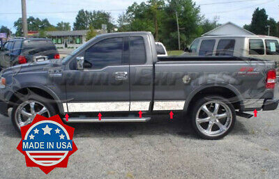 2004-2008 Ford F-150 Regular Cab 8/' Long Bed No Flare Groove Insert Line Trim