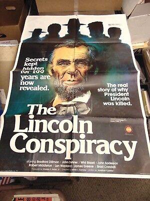 Bradford Dillman The Lincoln Conspiracy 27x41 Movie Poster Mp268 Ebay Mr allan told lincoln crown court: ebay