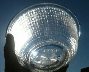 Vintage Clear Pyrex Bowl 1 Quart (322) Basket Weave  Pattern Hard to Find