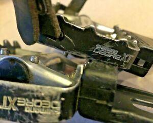 EXC-Shimano-Deore-XT-PD-M735-Vintage-MTB-Platform-Pedals-w-Toe-Clips-9-16-034