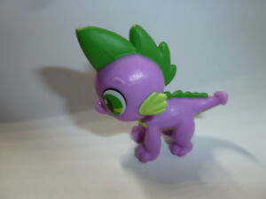 My Little Pony Friendship is Magic MLP:FiM G4 Spike the dragon figure toy cute:)