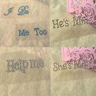 Trendy Shoe Sticker I Do Me Too Wedding Accessory Bridal and Groom Wedding Decal