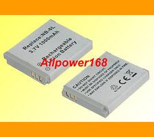 Battery for NB-6L Canon PowerShot SX240 HS SX260 HS ELPH 500 HS Digital Camera