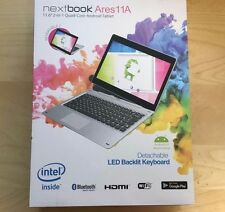 "BRAND NEW Nextbook Ares 11A 11.6"" 2in1 64GB Quad-Core Android Tablet NX16A11264S"