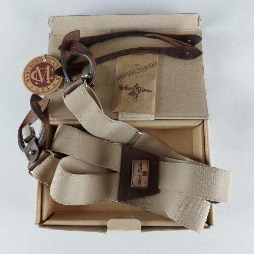 Suspenders MCS MARLBORO CLASSICS man Buttons Vinta