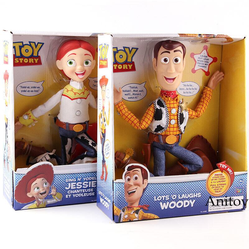 Juguete Story Juguetes lotes o ríe Woody cantar n Yodel Jessie Juguete Story Galeria De Acción De Pvc