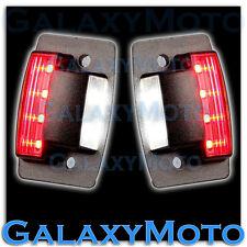 Dodge 94-02 RAM 1500+2500+3500 White LED License Plate+Rear Red LED Brake Light