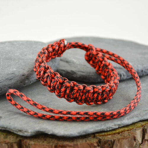 Paracord Camera Dragonne Dslr ou compact handmade in the UK Canon Nikon Fuji