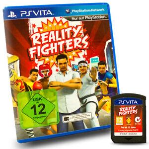 Playstation-Vita-Ps-Jeu-Reality-Realite-Combattants-dans-Emballage-D-039-Origine