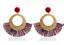 Fashion-Jewelry-Handmade-Bohemia-Beaded-Tassel-Dangle-Vintage-Ladies-Earrings miniatuur 11