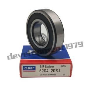 SKF 6203-2RS1 Deep Groove Ball Bearings 17x40x12 mm