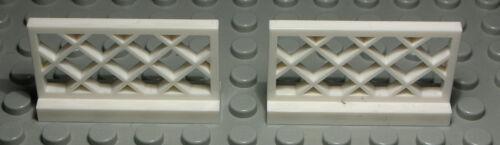 1133 Lego Zaun Geländer 1x4x2 Weiss 2 Stück
