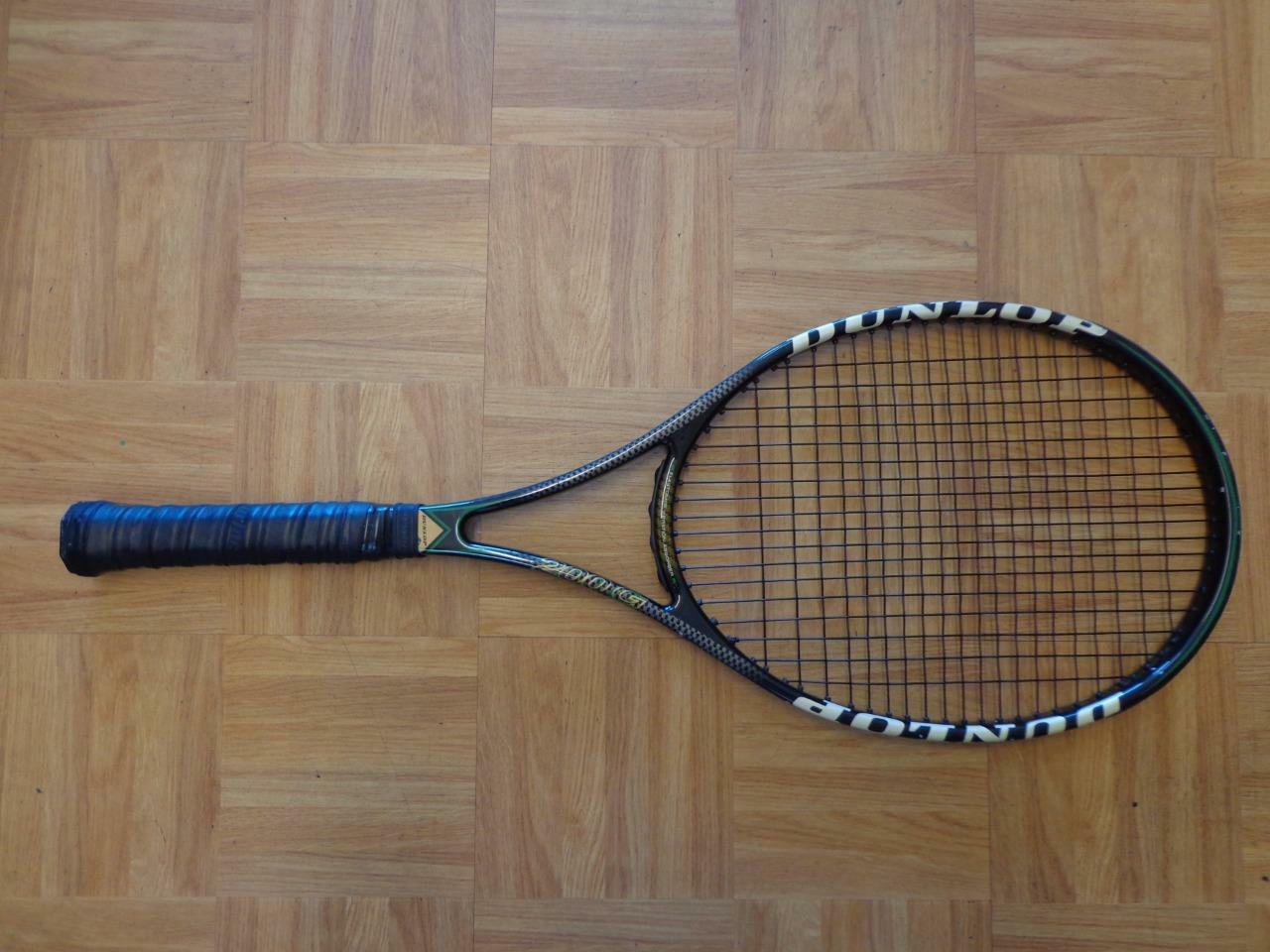 Dunlop Revelation 200G 95 cabeza 18x20 4 1 4 Grip Tenis Raqueta