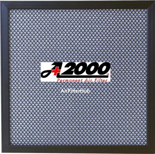 A+2000 Electrostatic Furnace A//C Air Filter MERV 8 Washable Permanent Lifetime