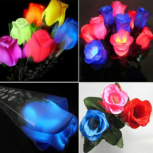 Red String Lights For Bedroom : LED String Fairy Lights Xmas Party Red Rose Flower Bedroom Indoor Decoration NE eBay