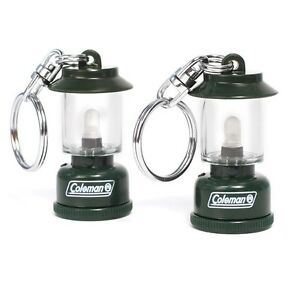Lot-of-2-Coleman-Collectible-Gas-Lantern-Keychains-Free-Shipping