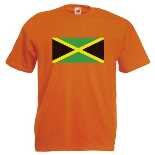 Jamaica Flag Children/'s Kids Childs T Shirt
